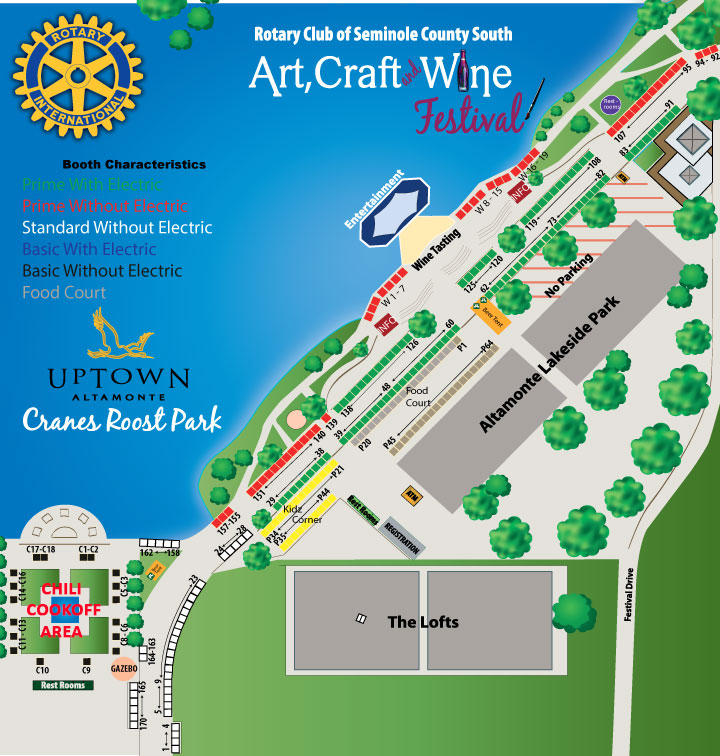 Art Craft And Wine Festival At Cranes Roost