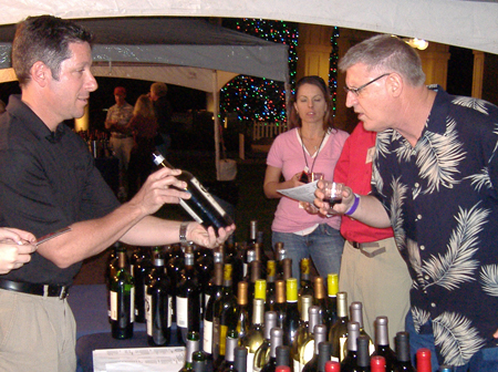 Wine Tasting Event at the Rotary Festival